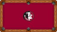Florida State University Seminoles 7' Pool Table Felt