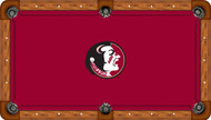 Florida State University Seminoles 9' Pool Table Felt