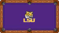 Louisiana State University Tigers 8' Pool Table Felt