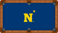 Naval Academy Midshipmen 8' Pool Table Felt