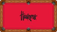 University of Nebraska Huskers 8' Pool Table Felt