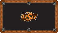 Oklahoma State University Cowboys 8' Pool Table Felt