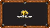 University of Southern Mississippi Golden Eagles 8' Pool Table Felt