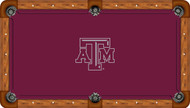 Texas A&M University Aggies 7' Pool Table Felt