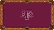 Texas A&M University Aggies 9' Pool Table Felt
