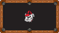 University of Georgia Bulldogs 7' Pool Table Felt