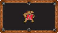 University of Maryland Terrapins 8' Pool Table Felt