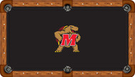 University of Maryland Terrapins 9' Pool Table Felt