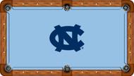 University of North Carolina Tar Heels 8' Pool Table Felt