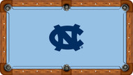 University of North Carolina Tar Heels 9' Pool Table Felt