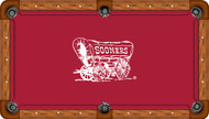 University of Oklahoma Sooners 7' Pool Table Felt