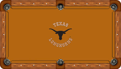 University of Texas Longhorns 7' Pool Table Felt