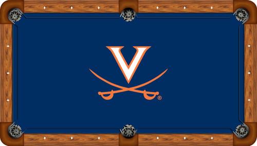 University of Virginia Cavaliers 9' Pool Table Felt
