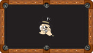 Wake Forest University Demon Deacons 8' Pool Table Felt