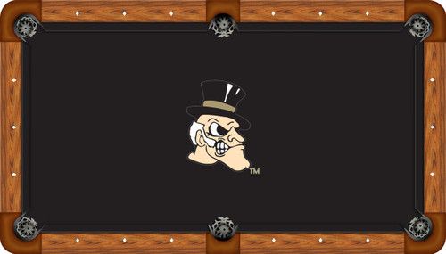Wake Forest University Demon Deacons 9' Pool Table Felt