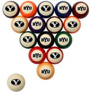 BYU Cougars Billiard Ball Set - Standard Colors