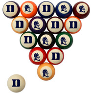 Duke Blue Devils Billiard Ball Set - Standard Colors