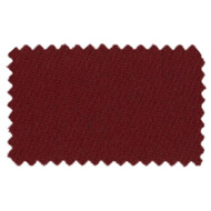 Strachan SuperPro 8' Oversized Burgundy Pool Table Cloth