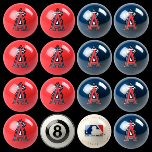 Los Angeles Angels of Anaheim Pool Balls