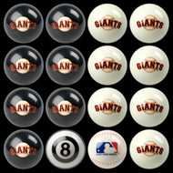 San Francisco Giants Pool Balls