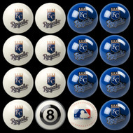 Kansas City Royals Pool Balls