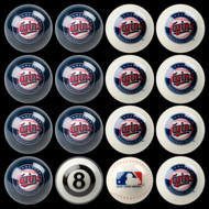Minnesota Twins Pool Balls