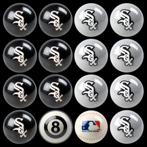Chicago White Sox Pool Balls