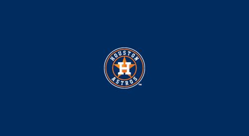 Houston Astros Pool Table Felt – 8 foot table