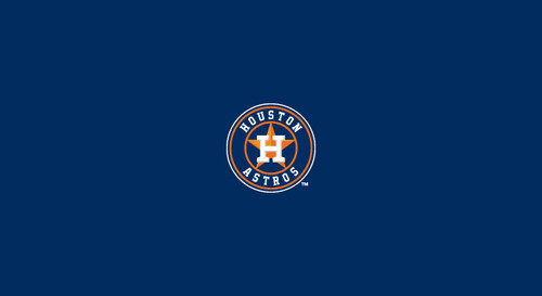 Houston Astros Pool Table Felt – 9 foot table