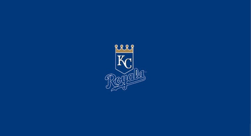 Kansas City Royals Pool Table Felt – 8 foot table
