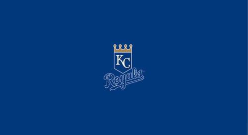 Kansas City Royals Pool Table Felt – 9 foot table