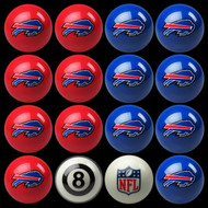 Buffalo Bills Pool Balls