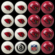 Arizona Cardinals Pool Balls