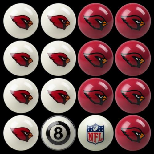 Arizona Cardinals Pool Balls