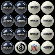 San Diego Chargers Pool Balls