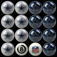 Dallas Cowboys Pool Balls
