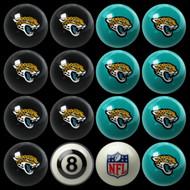 Jacksonville Jaguars Pool Balls