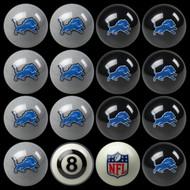 Detroit Lions Pool Balls