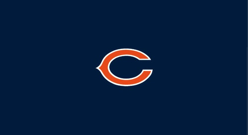 Chicago Bears Pool Table Felt for 9 foot table