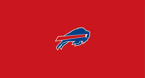 Buffalo Bills Pool Table Felt for 8 foot table