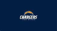 San Diego Chargers Pool Table Felt for 8 foot table