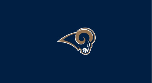 St Louis Rams Pool Table Felt for 8 foot table