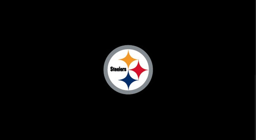 Pittsburgh Steelers Pool Table Felt for 8 foot table