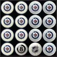 Winnipeg Jets Pool Balls