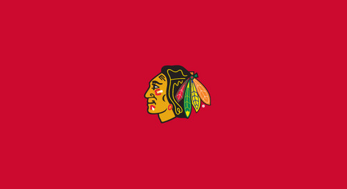 Chicago Blackhawks Pool Table Felt – 8 foot table