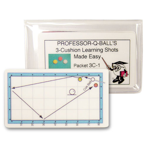 3-Cushion Learning Shots Made Easy Cards