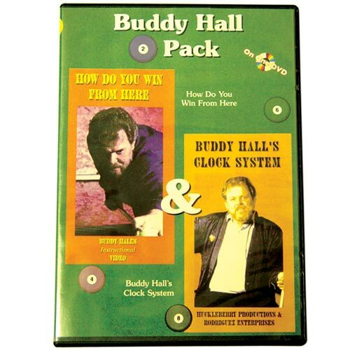 Buddy Hall 2-Pack DVD