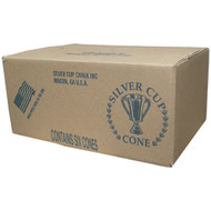 Silver Cup Cone Chalk (Case of Six)