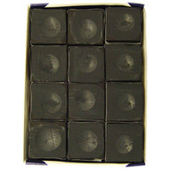 Silver Cup Chalk, Black, 12-Piece Box