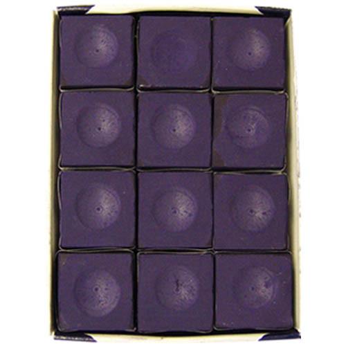Silver Cup Chalk, Purple, 12-Piece Box